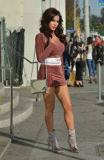 CARLA HOWE Out for Lunch at Catch LA in West Hollywood 01/02/2018