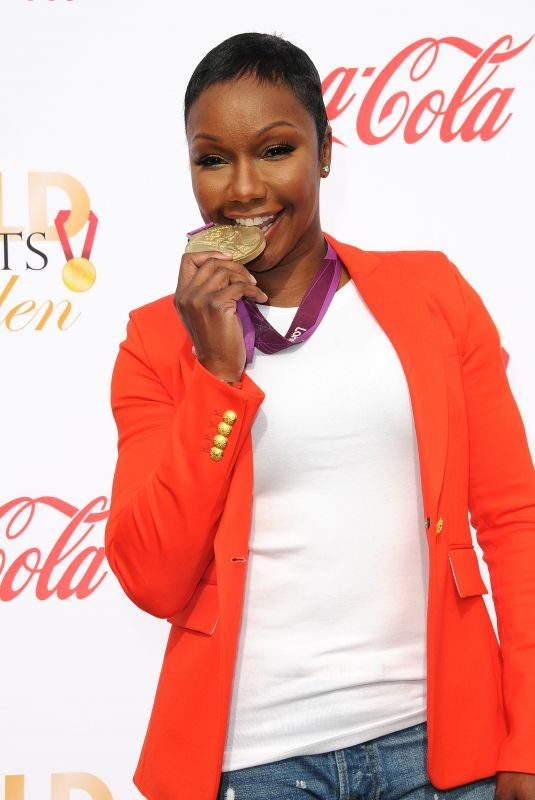 CARMELITA JETER at 5th Annual Gold Meets Golden in Los Angeles 01/06/2018