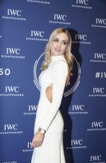 CARMEN JORDA at IWC Schaffhausen Gala at SIHH 2018 in Geneva 01/16/2018