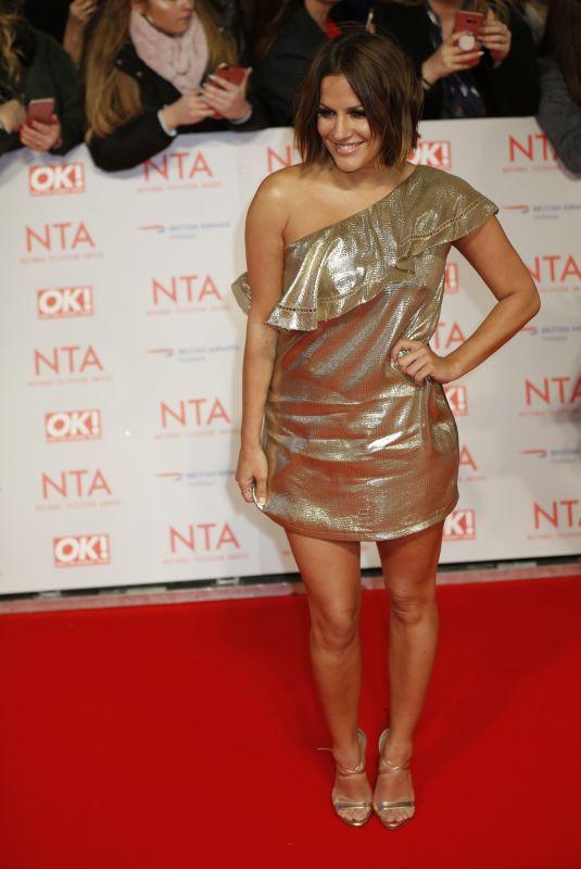 CAROLINE FLACK at National Television Awards in London 01/23/2018