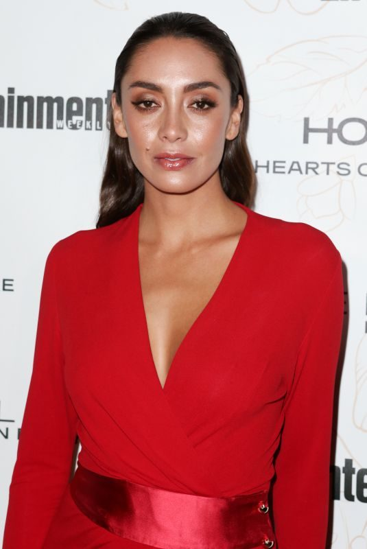 CAROLINE GUERRA at Entertainment Weekly Pre-SAG Party in Los Angeles 01/20/2018