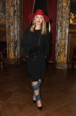 CAROLINE RECEVEUR at Stephane Rolland Fashion Show at Paris Fashion Week 01/23/2018