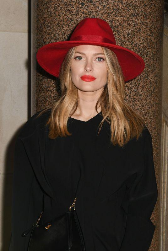 CAROLINE RECEVEUR at Stephane Rolland Fashion Show at Paris Fashion Week 01/23/2018