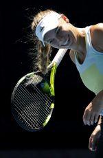 CAROLINE WOZNIACKI at Australian Open Tennis Championships Practice Session in Melbourne 01/14/2018