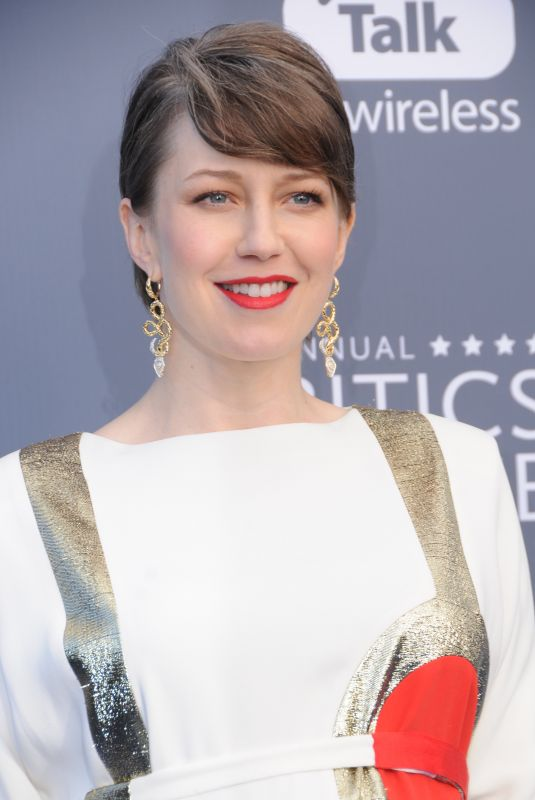 CARRIE COON at 2018 Critics' Choice Awards in Santa Monica 01/11/2018