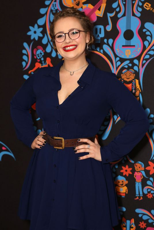 CARRIE FLETCHER at Coco Screening in London 01/15/2018