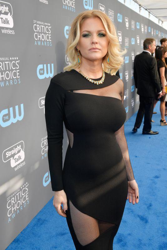 CARRIE KEEGAN at 2018 Critics' Choice Awards in Santa Monica 01/11/2018