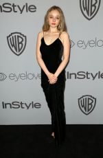 CARSON MEYER at Instyle and Warner Bros Golden Globes After-party in Los Angeles 01/07/2018