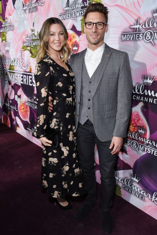 CASSANDRA TROY WALKER at Hallmark Channel All-star Party in Los Angeles 01/13/2018