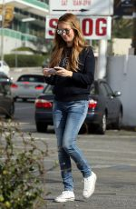 CAT DEELEY Out and About in Los Angeles 01/16/2018