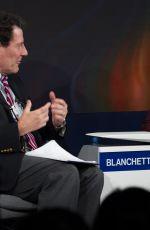 CATE BLANCHETT at 2018 World Economic Forum in Davos 01/23/2018