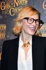 CATE BLANCHETT at Girl from the North Country Play Opening Night in London 01/11/2018