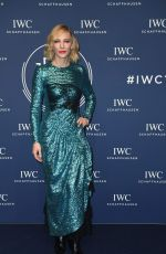CATE BLANCHETT at IWC Schaffhausen Gala at SIHH 2018 in Geneva 01/16/2018