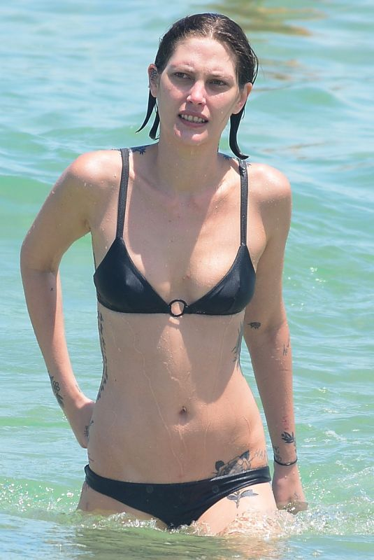 CATHERINE MCNEIL in Bikini at Bondi Beach in Sydney 12/29/2017