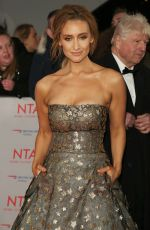 CATHERINE TYLDESLEY at National Television Awards in London 01/23/2018
