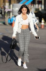CHANTEL JEFFRIES at Sunset Foot Spa in Los Angeles 01/26/2018