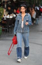 CHANTEL JEFFRIES Out for Lunch at Urth Caffe in West Hollywood 01/12/218