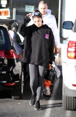 CHANTEL JEFFRIES Out for Lunch in Los Angeles 01/25/2018