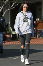 CHANTEL JEFFRIES Out for Lunch in West Hollywood 01/10/2018