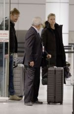 CHARLIZE THERON Arrives at Airport in Montreal 01/11/2018