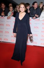 CHARLOTTE BELLAMY at National Television Awards in London 01/23/2018