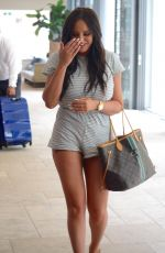 CHARLOTTE CROSBY, ASHY BINES, TAMMY HEMBROW and STEPH CLAIRE Arrives in a Private Jet in Sydney 01/25/2018