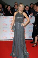 CHARLOTTE HAWKINS at National Television Awards in London 01/23/2018