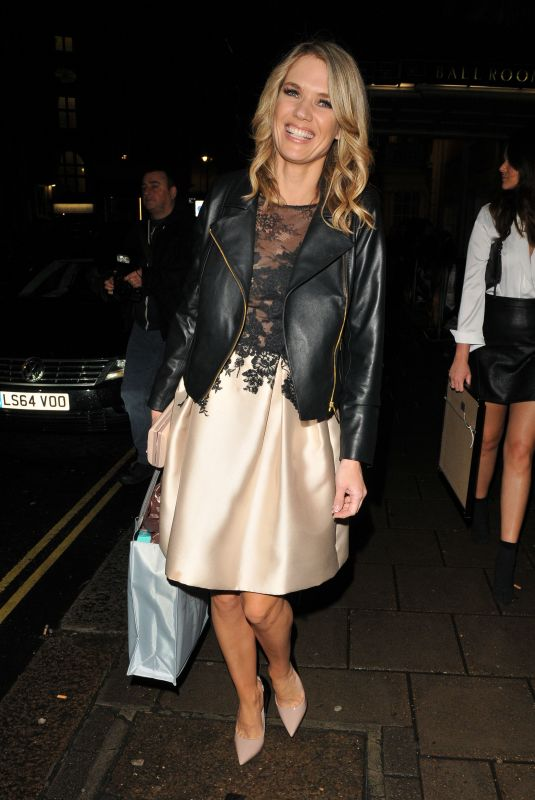 CHARLOTTE HAWKINS at Radio Times Covers Party in London 01/30/2018