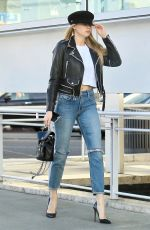 CHARLOTTE MCKINNEY Out Shopping in Beverly Hills 01/16/2018
