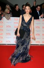 CHARLOTTE SALT at National Television Awards in London 01/23/2018