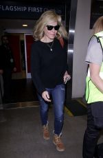 CHELSEA HANDLER at LAX Airport in Los Angeles 01/20/2018