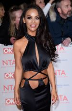 CHELSEE HEALEY at National Television Awards in London 01/23/2018