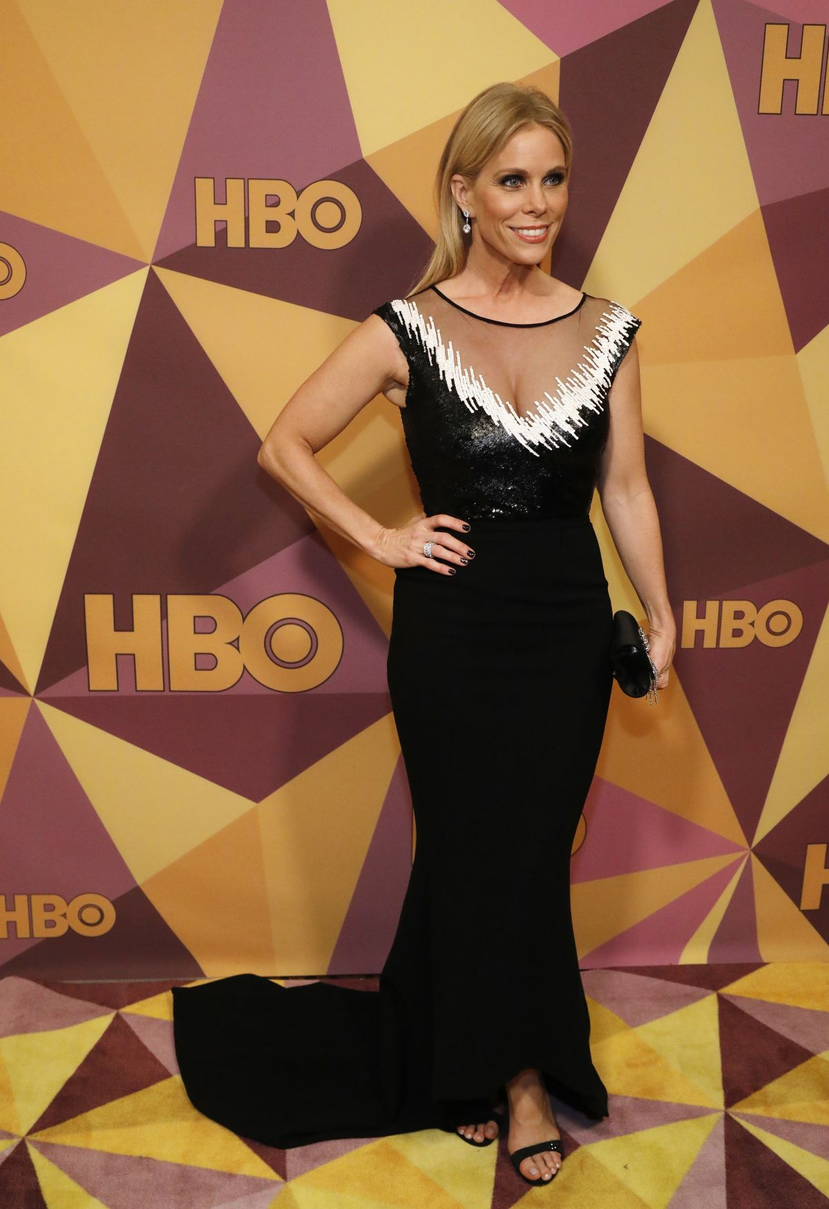 CHERYL HINES at HBO's Golden Globe Awards After-party in ...