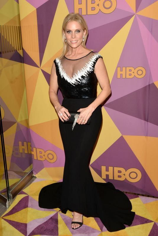 CHERYL HINES at HBO's Golden Globe Awards After-party in Los Angeles 01/07/2018