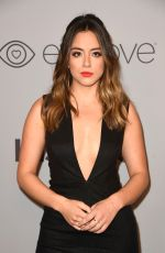 CHLOE BENNET at Instyle and Warner Bros Golden Globes After-party in Los Angeles 01/07/2018