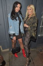 CHLOE FERRY Night Out in Newcastle 01/27/2018