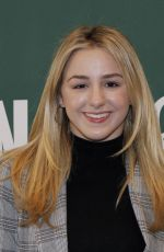CHLOE LUKASIAK at Her Girl on Pointe Book Signing in Los Angeles 01/27/2018