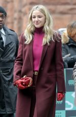 CHLOE LUKASIAK Out and About in New York 01/22/2018