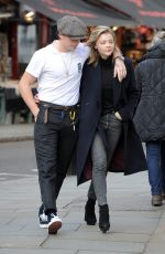 CHLOE MORETZ and Brooklyn Beckham Out in Notting Hill 01/10/2018