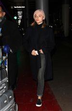 CHLOE MORETZ at Los Angeles international Airport 01/11/2018