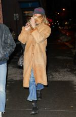 CHLOE SEVIGNY Night Out in New York 01/11/2018