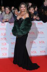 CHLOE SIMS at National Television Awards in London 01/23/2018