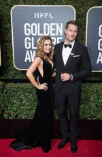 CHRISHELL STAUSE at 75th Annual Golden Globe Awards in Beverly Hills 01/07/2018