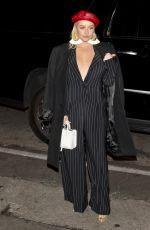 CHRISTINA AQUIELARA at Roger Room in West Hollywood 01/24/2018