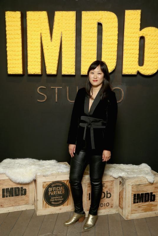 CHRISTINA CHOE at IMDB Studio at Sundance Film Festival in Park City 01/19/2018