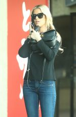 CHRISTINA EL MOUSSA Leaves a Coffee Shop in Brentwood 01/05/2018