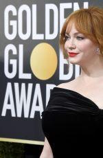 CHRISTINA HENDRICKS at 75th Annual Golden Globe Awards in Beverly Hills 01/07/2018