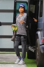 CHRISTINA MILIAN Heading to a Gym in Los Angeles 01/16/2018