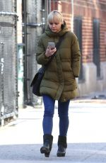 CHRISTINA RICCI Out and About in New York 01/26/2018
