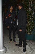 CIARA and Russell Wilson Leaves Mr Chow in Beverly Hills 01/12/2018
